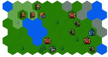 Hexagon Phaser Game
