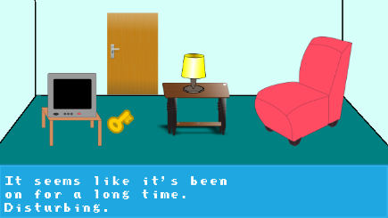 Point and Click HTML5 adventure game