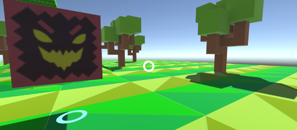vr fixed teleportation game