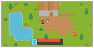 Micro RPG made with Unity